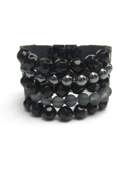 Lindero Bracelet - Black & Grey