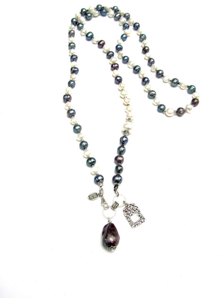 Legacy Long Pearl Necklace