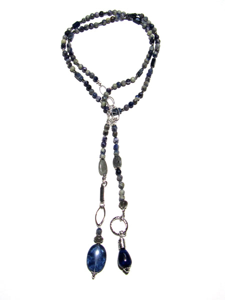 Denim Daze Lariat Necklace