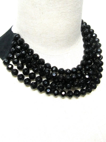 Lindero Necklace - Black