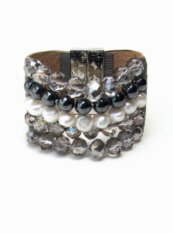 Lindero Bracelet - Grey Mix