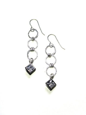 Melange Rhinestone Earrings