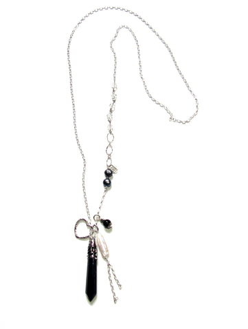 In The Mix Necklace - Black