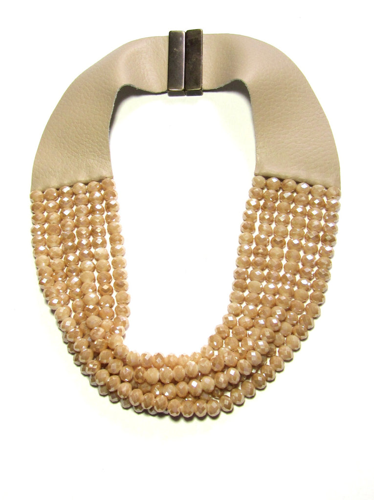 Lindero Necklace - Mocha