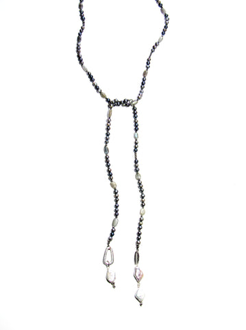 Du Jour Lariat Necklace