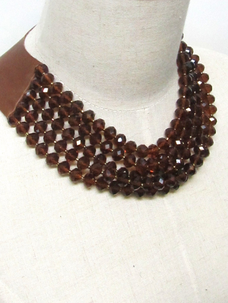 Lindero Necklace - Cognac