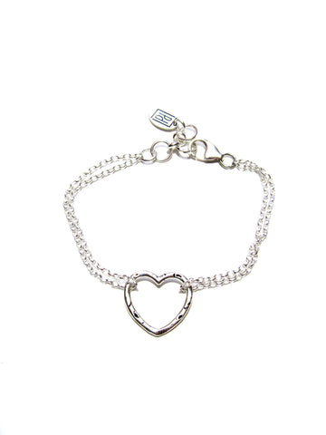 True Heart Bracelet - Sterling