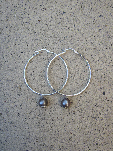 Hoopla Earrings, Medium