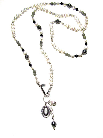 Revival Pearl Necklace, Long