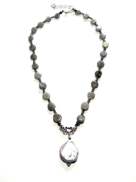 Aglow Necklace - Labradorite