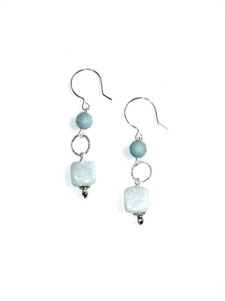 Ventura Earrings - Amazonite