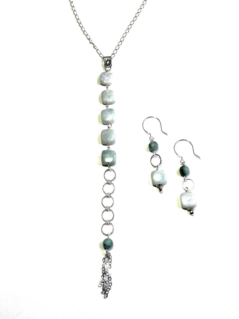 Ventura Y Necklace - Amazonite