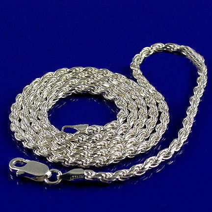 trustmark sterling inches products rope silver chains italian triple necklaces chain jewelers