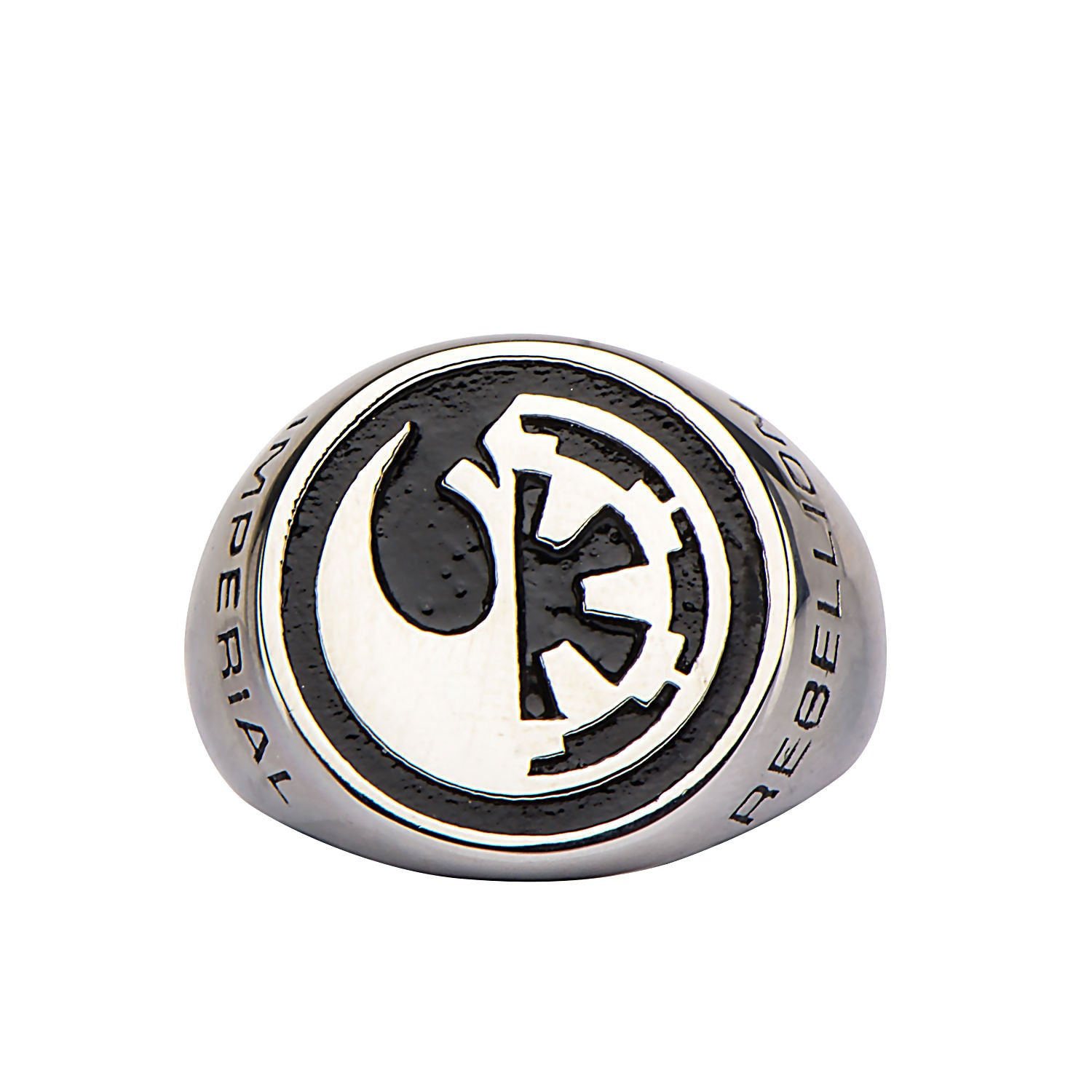 Star wars rogue one rebel alliancegalactic empire symbol ring star wars rogue one rebel alliancegalactic empire symbol ring stainless steel trustmark biocorpaavc Images