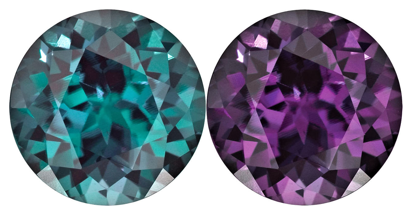 princess created alexandrite karat natural cut pin stud white earrings gold carats