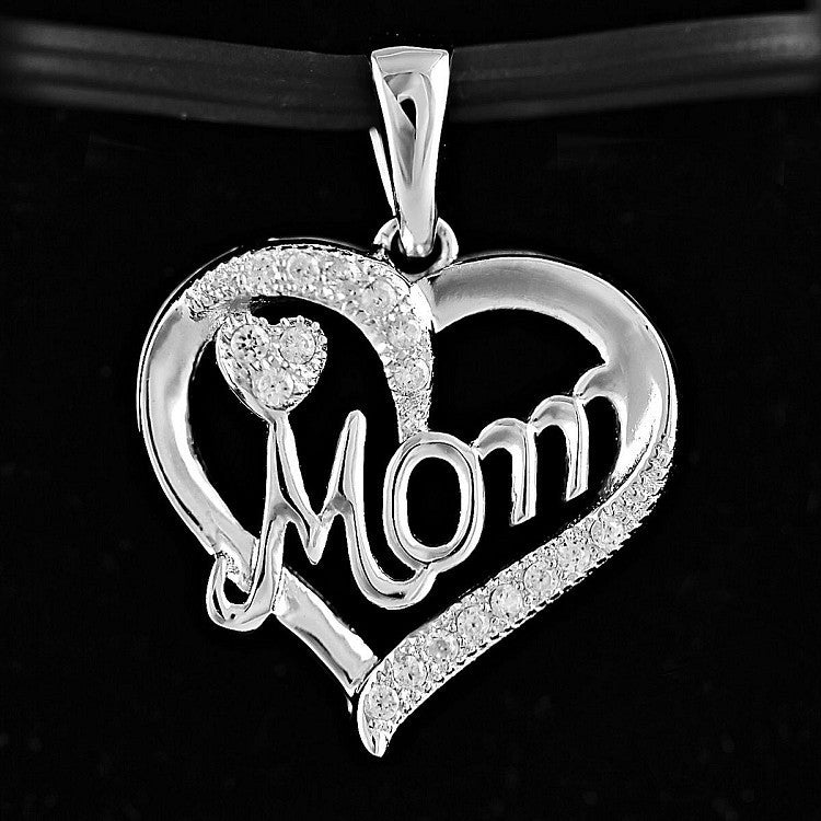 Myna russian ice on fire cz mothers day promise heart pendant myna russian ice on fire cz mothers day promise heart pendant trustmark jewelers mozeypictures Gallery
