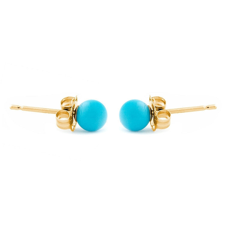 with gold leverback youtube earrings watch beauty antonella nester drop sleeping turquoise