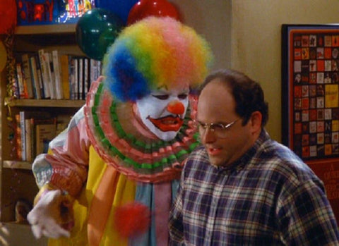 George Costanza Shirts | Eric the clown
