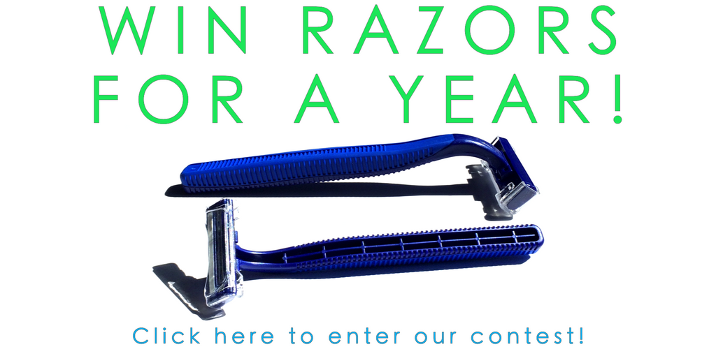 Win Free Disposable Razors for a year with Big Box of Razors!