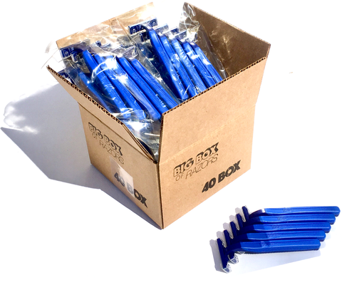40 Box of Blue Razors
