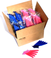 500 Box Combo Pack of Premium Blue & Pink Razors