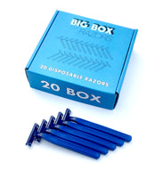 20 Box of Premium Blue Razors