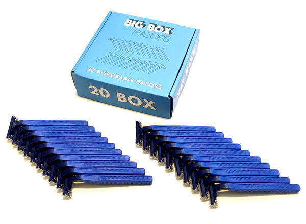 20 High Quality Bulk Disposable Razor Blades