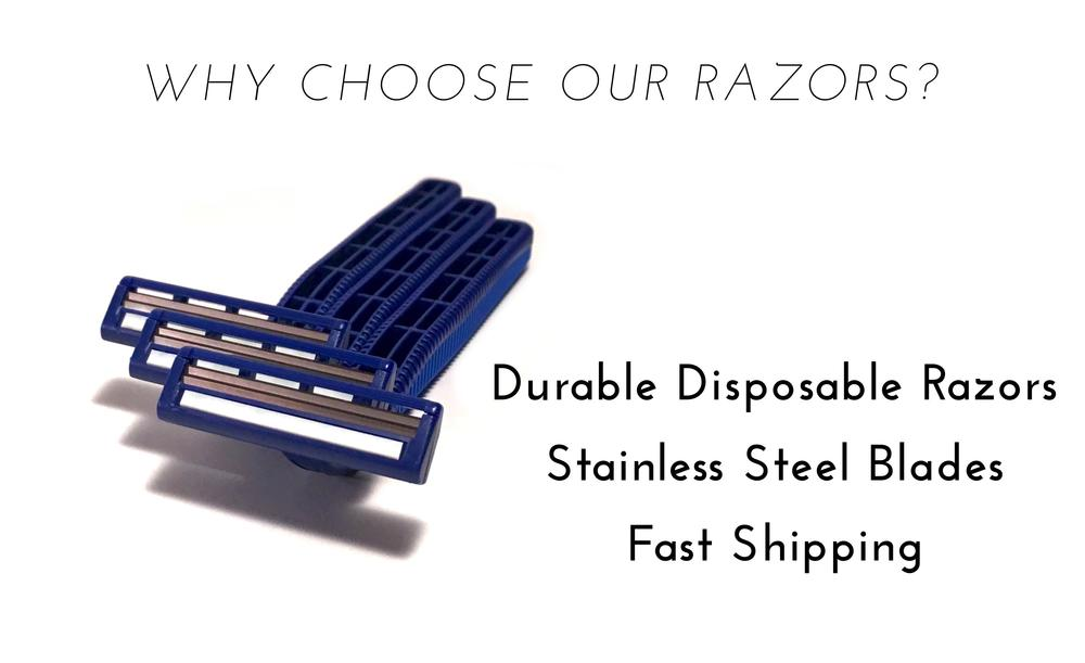 Try 5 of our Razors for free with Big Box of Razors, just pay for shipping