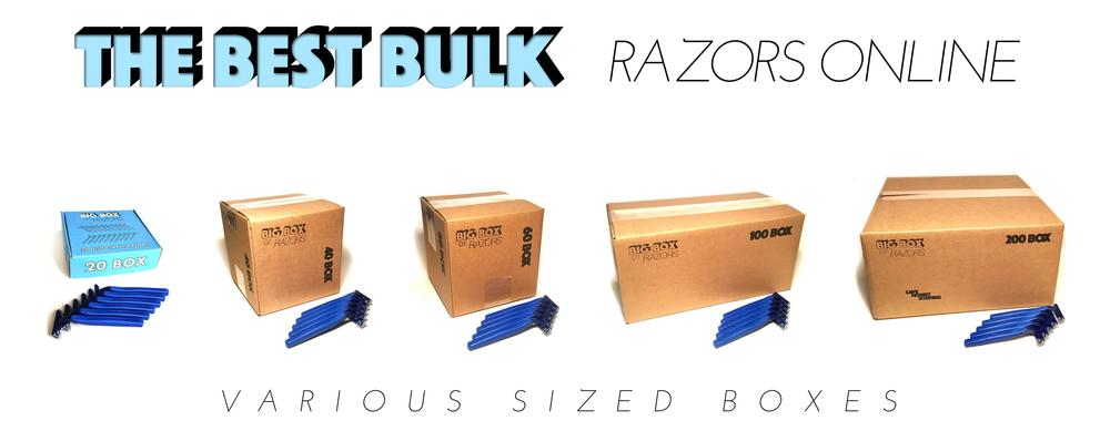 Win an entire Year of Free Razors with Big Box of Razors