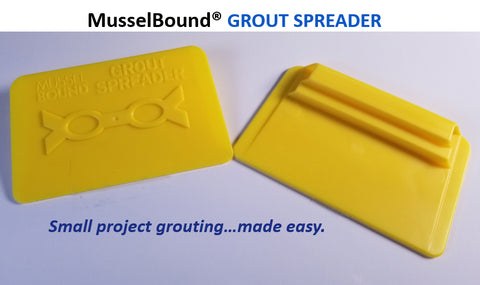 MusselBound Grout Spreader