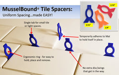 MusselBound Tile Spacer Kit