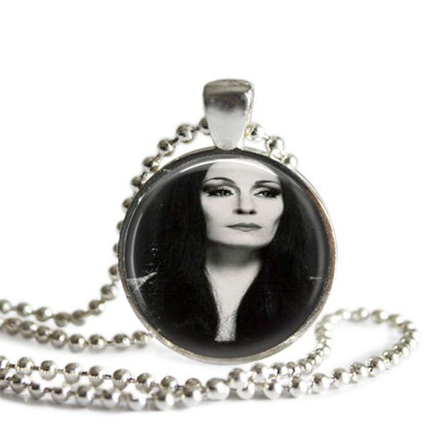Morticia Addams Necklace
