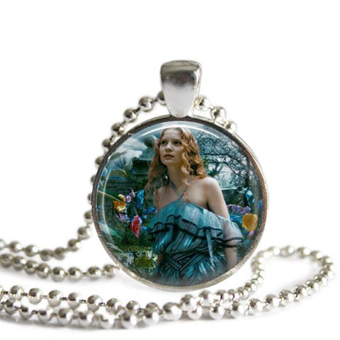 Alice In Wonderland jewelry Alice necklace