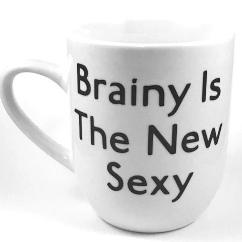 Brainy Is The New Sexy Mug