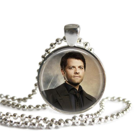 Castiel Necklace Handmade Supernatural jewelry