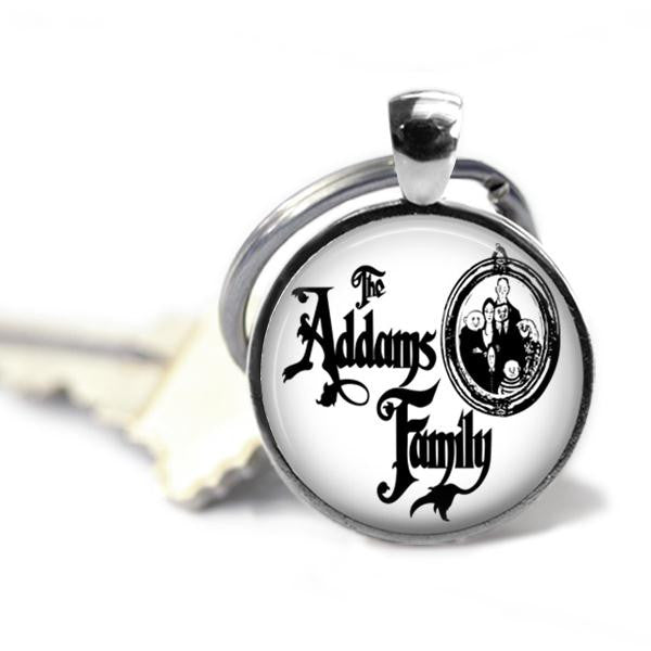 The Addams Family Musical Keychain