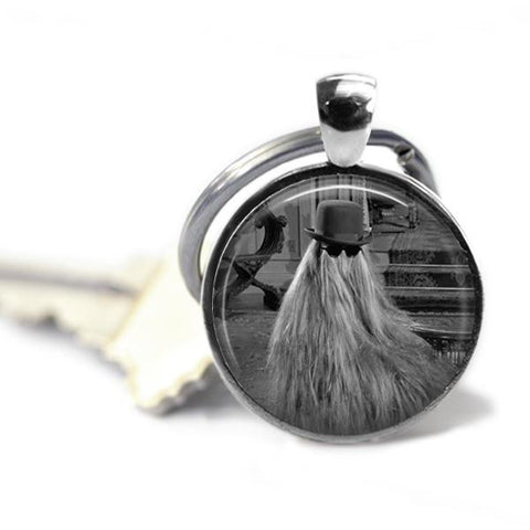 The Addams Family Cousin Itt Keychain