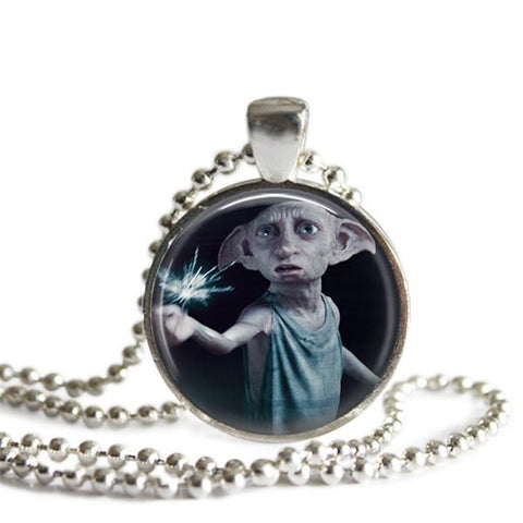 Dobby pendant necklace