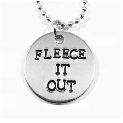 Fleece It Out Necklace