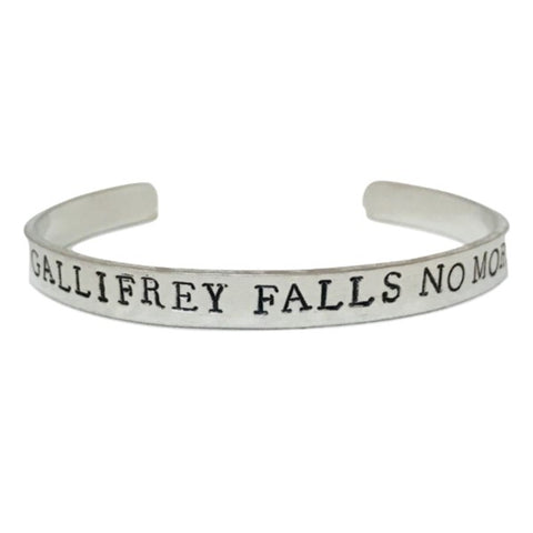 Gallifrey Falls No More Bracelet