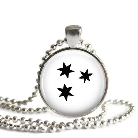 Harry Potter Book Stars Necklace