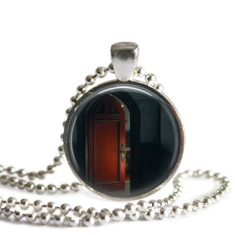 Red Door Necklace