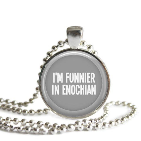 Cas Quote Necklace