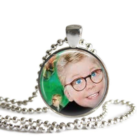A Christmas Story Ralphie necklace
