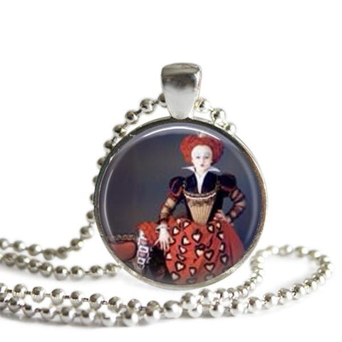 Alice In Wonderland jewelry Red Queen Necklace
