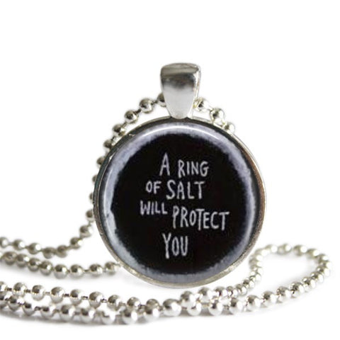 Ring of Salt Necklace