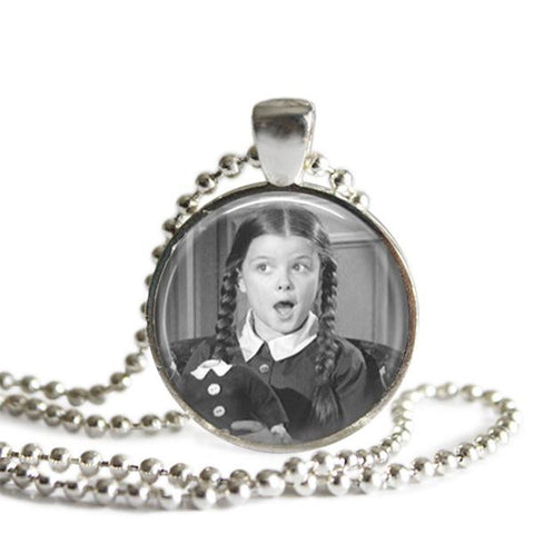 Wednesday Addams Necklace Handmade