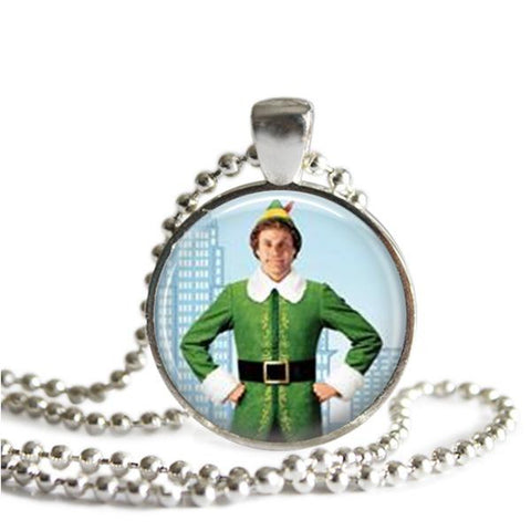 Buddy the Elf necklace