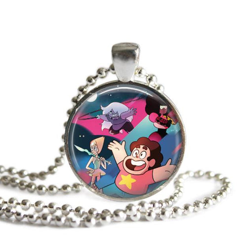 Steven Universe and Crystal Gems Necklace