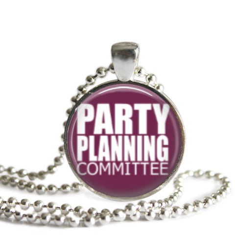 Party Planning Committee Necklace